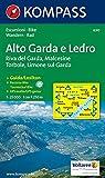 Alto Garda e Ledro: Riva del Garda, Malcesine, Torbole, Limone. Escursioni/Bike. Wandern/Rad. GPS-genau. 1:25.000