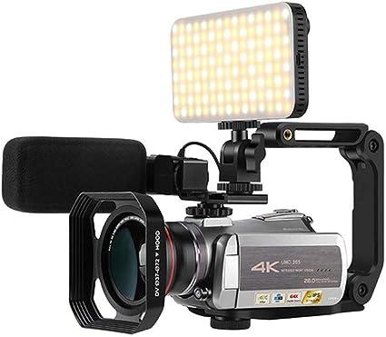 Portátil 4K cámara, 1080P 30 FPS Vlog cámara Nocturna por ...