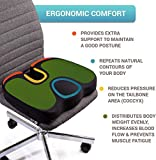 Seat Cushion Pillow for Office Chair - 100% Memory