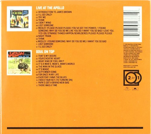 Live at the Apollo/Soul on Top by Ontop+