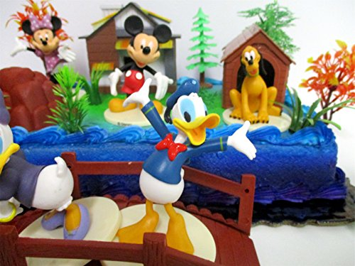 Fabulous Mickey Mouse Clubhouse Birthday Cake Topper Featuring Mickey Mouse Funny Birthday Cards Online Elaedamsfinfo