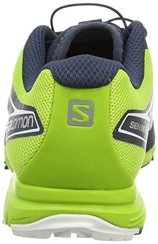 Salomon Sense Pro - Zapatillas para hombre Deep Blue/Granny Green/White