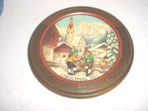 Anri 1971Christmas St Jakob in Groden Woodcarving - Anri Wood