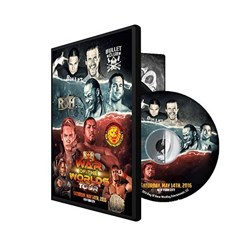 Official ROH & NJPW - Ring of Honor War of the Worlds - NYC 2016 Event DVD