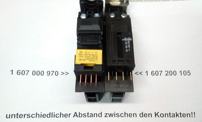 Resistencia de arranque para GWS 20-230,21-230,22-230,23,24-230,25,26,2000-23,22-180 Bosch