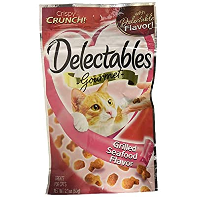 Cat Food Hartz Delectables Crunchy Cat Treats [tag]