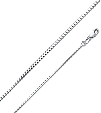 Sonia Jewels 14k White Gold Figaro Concave Chain Necklace With Lobster Claw Clasp