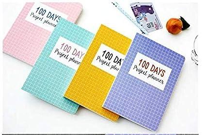 CXYBJB Cuaderno Planificador De Proyectos Agenda De Estudio ...
