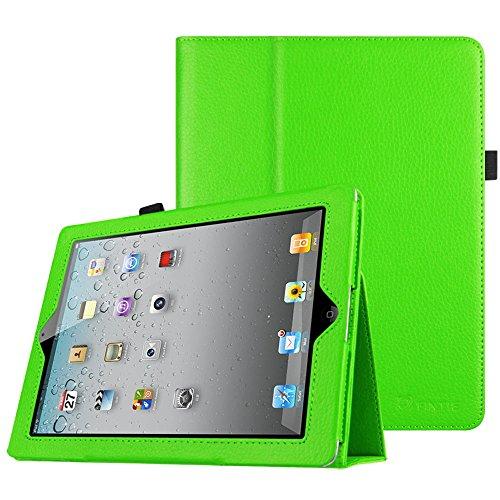 Fintie iPad 2/3/4 Case - Slim Fit Folio Stand Case Smart Protective Cover Auto Sleep/Wake Feature for Apple iPad 2, iPad 3 & iPad 4th Generation with Retina Display - Green