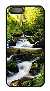 iPhone 5s Case, iPhone 5s Cases - Nature Black Forest Custom Design iPhone 5s Case Cover - Polycarbonate¨CBlack