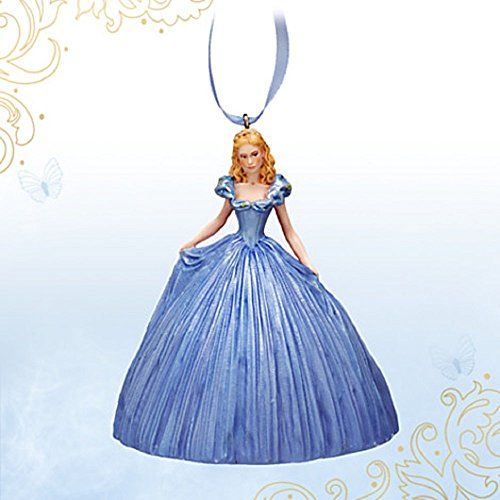 Disney Store Cinderella Dress Ornament - Live Action Film