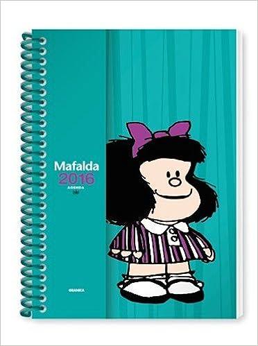 Mafalda 2016 Agenda anillada - Turquesa (Spanish Edition ...
