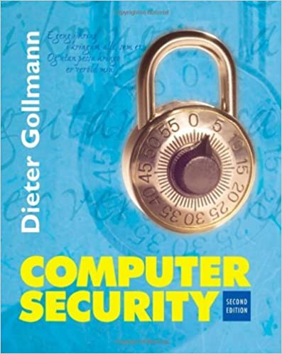 Computer security: computer security dieter gollmann pdf download.