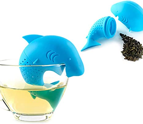 Funny Tea Strainer Special Shape Silicone Tea Infuser Filter Home Kitchen Tool
