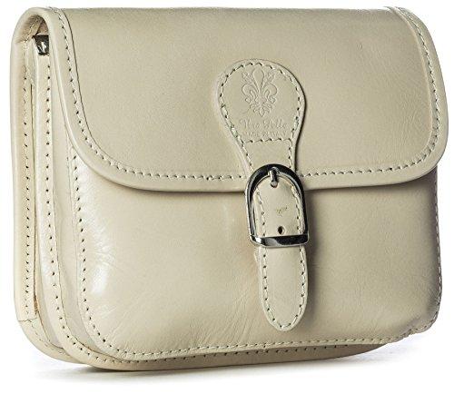 Big Handbag Shop, Borsa a tracolla donna One Beige (Light Beige)