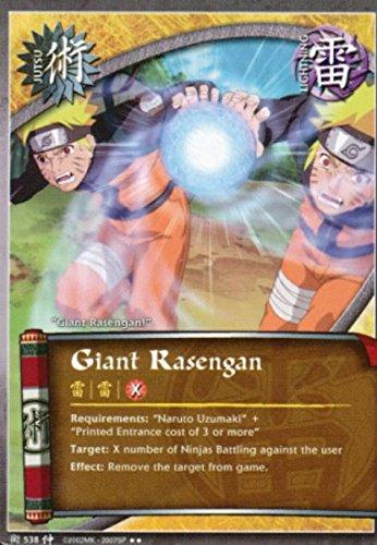 Naruto Card - Giant Rasengan 538 - Starter Set - Rare (538 Single)