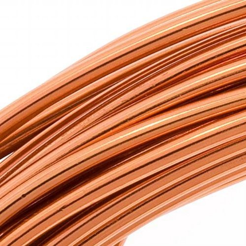 - Aluminum Craft Wire Copper Color 12 Gauge 39 Feet (11.8 Meters)