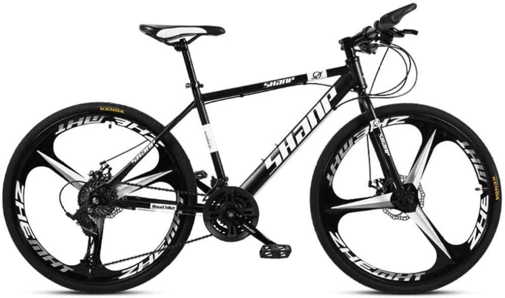 QJWY-Home Mountain Bike Bicicletas montaña Aleación de Aluminio de Velocidad Variable a Campo traviesa Bicicleta Deportes para Hombres y Mujeres Adultos Bicicleta Carretera MTB