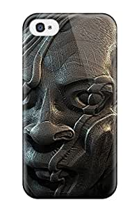 Premium creepy Case For Iphone 4/4s- Eco-friendly Packaging 6361588K13767494