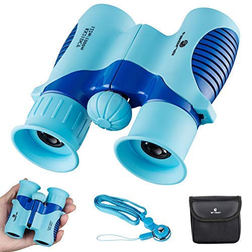 BNISE 8X21 Binoculars for Kids, Compact and Lightweight Design, Perfect for Bird Watching, Hunting, Stargazing and Outdoor Play, Best Gifts for Children [並行輸入品]   B07TMPJDR1
