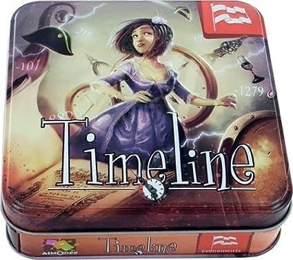 Asmodée - Timeline Eventos: Amazon.es: Juguetes y juegos