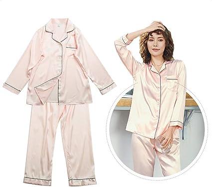 DN-clothing Pijamas Pijamas Bordados de Mujer Conjunto de ...