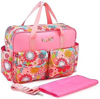 Bolso cambiador de lailongp pa/ñal de beb/é gran capacidad mam/á maternidad ni/ñas 1 Talla:15.35 x 4.92 x 11.41in bolsa de viaje bolso de mano bolso de hombro para mujeres