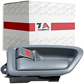 Smooth Black 97-01 Camry//ES300 Exterior Outside Door Handle Front PAIR
