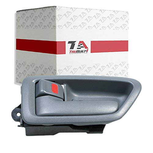 T1A 1997-2001 Toyota Camry and Lexus ES300 Interior Door Handle Replacement, Fits Inside Front or Rear Left Driver's Side, Gray Color, T1A ()