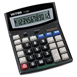 Victor 1190 1190 Executive Desktop Calculator, 12-Digit LCD