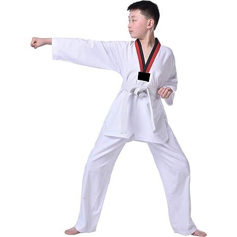 Hzjundasi Uniforme de Taekwondo, Cuello en V Uniforme de Karate ...