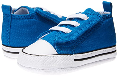 Converse Baby Girls' Chuck Taylor First Star Easy Slip (Infant) - Larkspur - 3 Infant