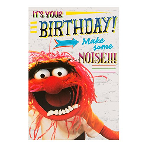 Disney Muppets Birthday Card]()
