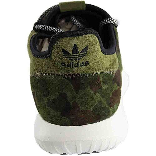 Adidas Rørformet Skyggeløpeskoen Bb8818 Oliven Svart