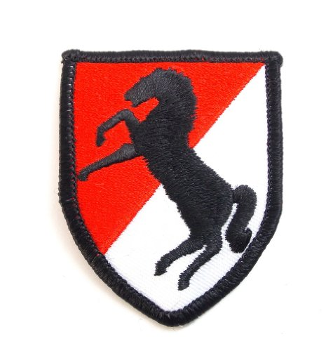 Army 11th Armored Cavalry Regiment Embroidered Military Patch Iron Sew - Regiment Pin