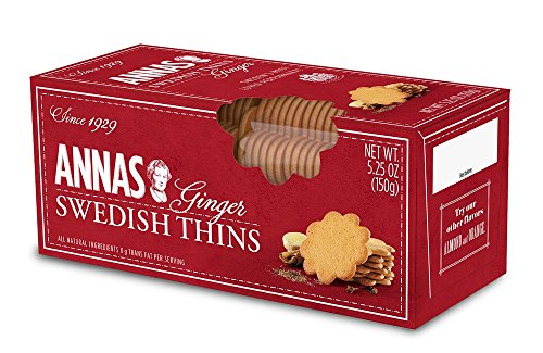 (Annas Swedish Thins - 12 packs Ginger)