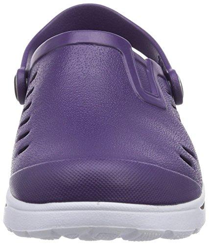 Lila Viola Chung indigo violett Zoccoli Donna Shi gqwxwYzA