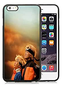 Beautiful DIY Designed With Naruto The Movie Cover Case For iPhone 6 Plus 5.5 Inch Black Phone Case CR-456