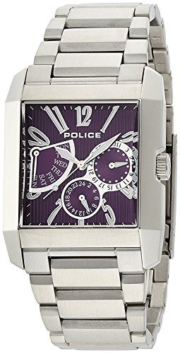 POLICE watch Kings Avenue Retrograde 5 ATM water resistant 13789MS-10M Men's [regular imported goods]