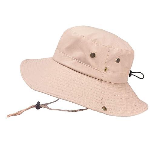 70af9190 BeautyShe Outdoor Waterproof Hat Wide Brim Breathable Hunting ...