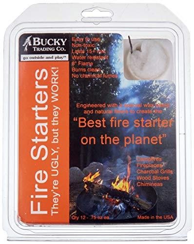 Bucky Fire Starters (Qty: 12)