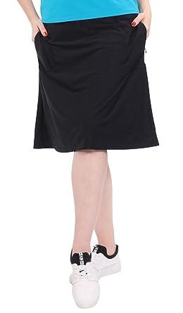 cb58977c0067 Kosher Casual Women's Modest Knee-Length Swim/Sport Skirt with On-Seam Side