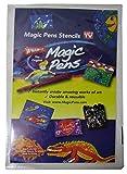WHAM-O Magic Pens Stencils 4 Piece Set Pack of 5