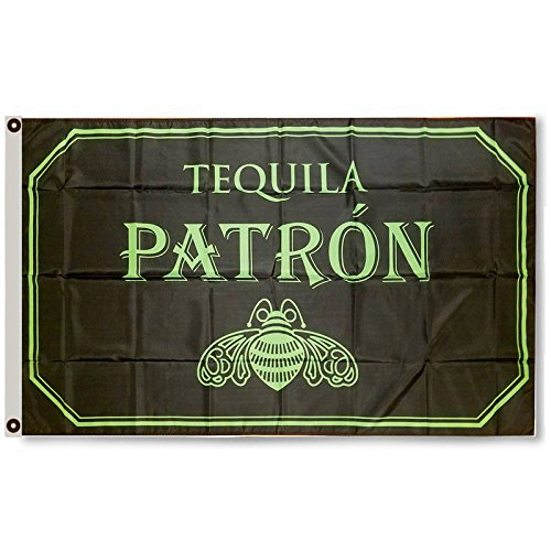 2but Patron Tequila Flag Banner 3×5 Feet Man Cave