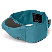 Hippychick Hipseat Baby Carrier – The Easy, No-fuss Baby Carrier That Takes Care Of Your Back - Teal
