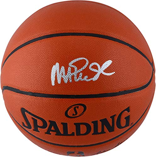 Magic Johnson Los Angeles Lakers Autographed Spalding Indoor Outdoor Basketball with Silver Ink - Fanatics Authentic Certified (Signed Basketball)