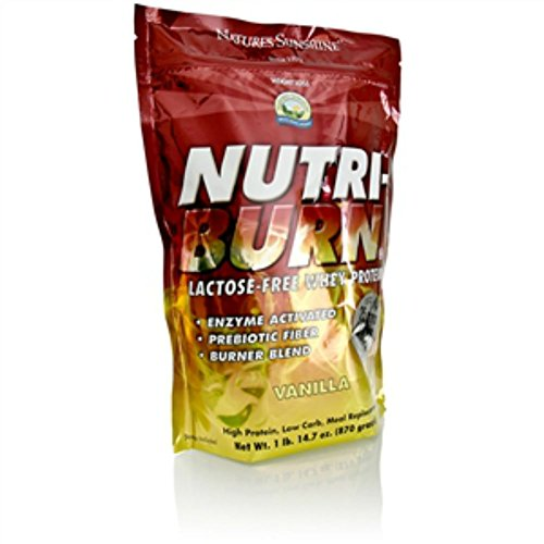 Nature's Sunshine Nutri-Burn Protein Matrix, Vanilla, 2lb | Meal Replacement Protein Shake with 25 Grams of Whey and Calcium Caseinate to Promote Lean Muscle Mass ()