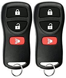KeylessOption Keyless Entry Remote Control Car Key Fob Replacement for KBRASTU15, CWTWB1U733 (Pack of 2)