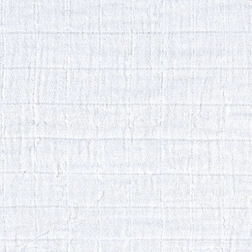 Shannon Embrace Double Gauze Solid Snow Fabric By The (Solid Gauze)