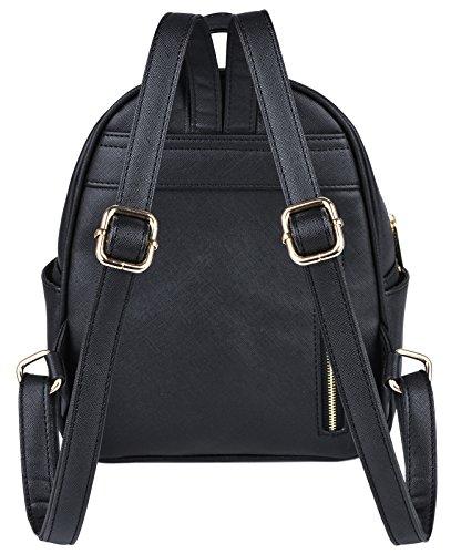 Mini Backpack, COOFIT Bat Purse Gothic Backpack Purse Gothic Bags Mini  Backpack for Women 1de41c991b